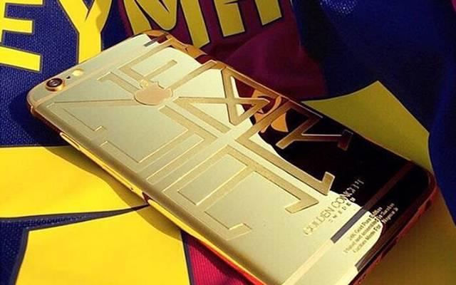 Das ist das neue iPhone von Neymar