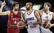 Die Stars der Basketball-EM