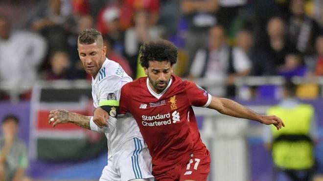 Sergio Ramos gegen Mo Salah: Eine Szene, die bei Liverpool bestimmt keiner vergessen hat