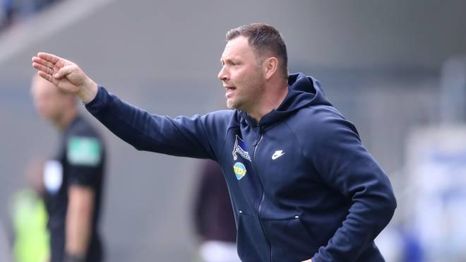 Pal Dardai kassierte mit Hertha BSC die fünfte Niederlage in Folge