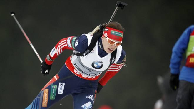 Olga Wiluchina gewann in Sotschi zwei Olympia-Medaillen