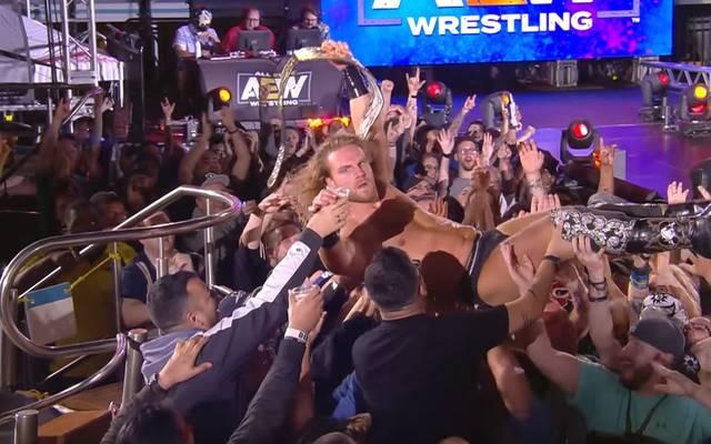 Hangman Page gewann mit Kenny Omega die AEW World Tag Team Titles