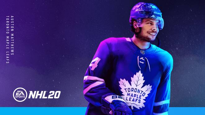 NHL 20 enthüllt ersten Trailer und Coverstar Auston Matthews