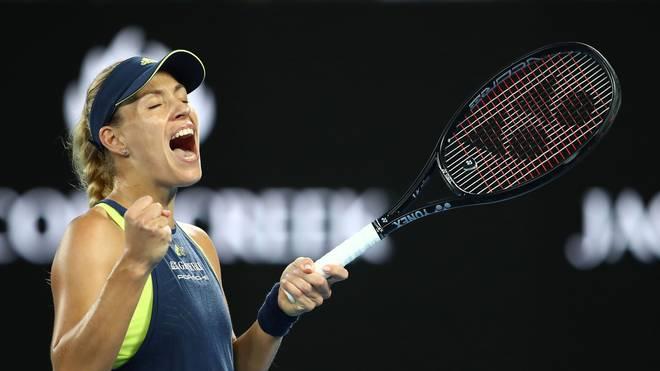 Angelique Kerber steht in Melbourne im Halbfinale