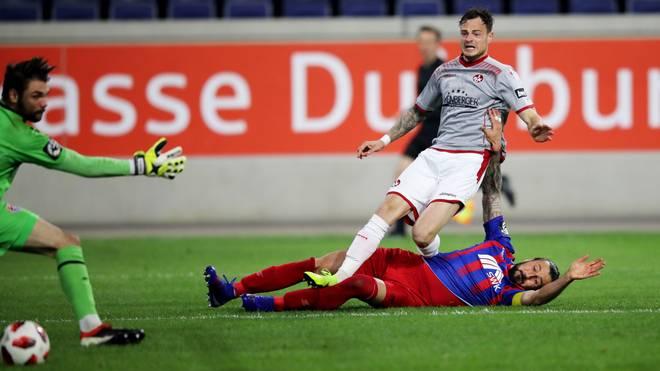 Timmy Thiele erzielte zwei Tore für den 1. FC Kaiserslautern