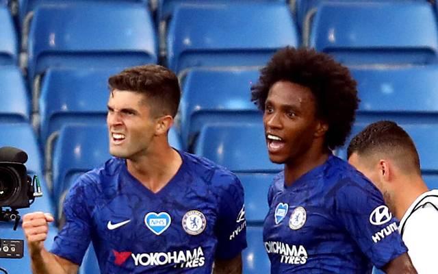 Willian (r.) wird den FC Chelsea verlassen