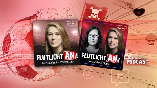 """""""Wortpiratin"""" Mara Pfeiffer startet mit SPORT1 den neuen Podcast """"Flutlicht an!"""""""