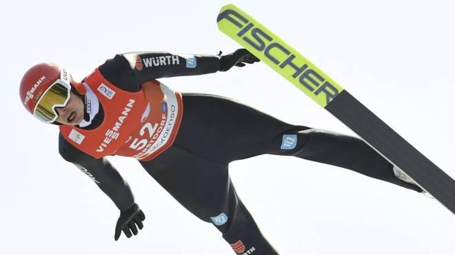 Eric Frenzel hat nach dem Springen gute Chancen auf eine WM-Medaille