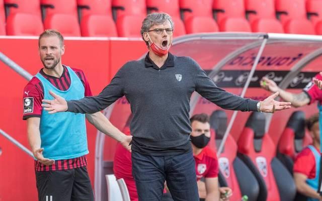 Michael Henke, Sportdirektor des FC Ingolstadt, wurde bestraft