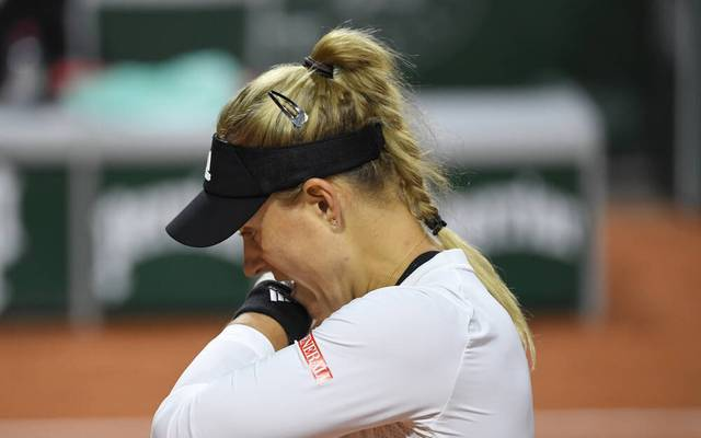 Für Angelique Kerber war bei den French Open gegen die ungesetzte Slowenin Kaja Juvan schon in Runde 1 Endstation