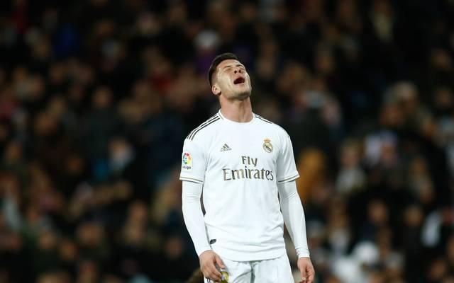Bei Real Madrid konnte Luka Jovic nie sein ganzes Potenzial entfalten