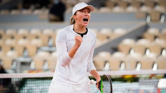 Iga Swiatek trumpft bei den French Open auf