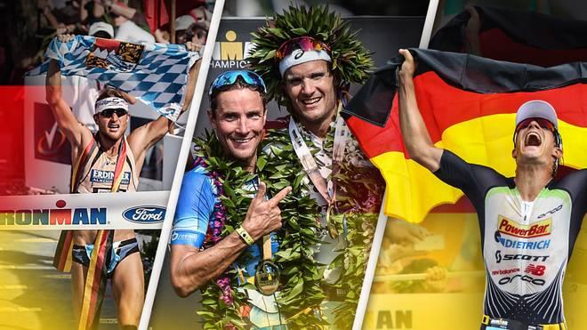 Deutsche Triathleten