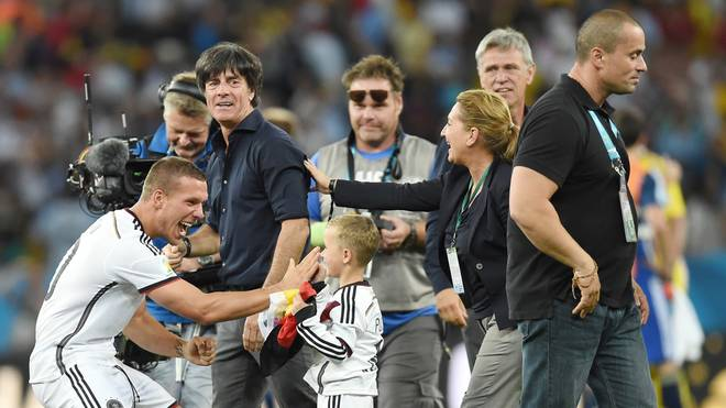 Jose Meneses (r.) sorgte auch bei der WM in Brasilien für die Sicherheit des DFB-Teams