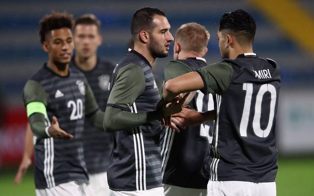 Azerbaijan U21 v Germany U21 - UEFA Under21 Euro 2019 Qualifier