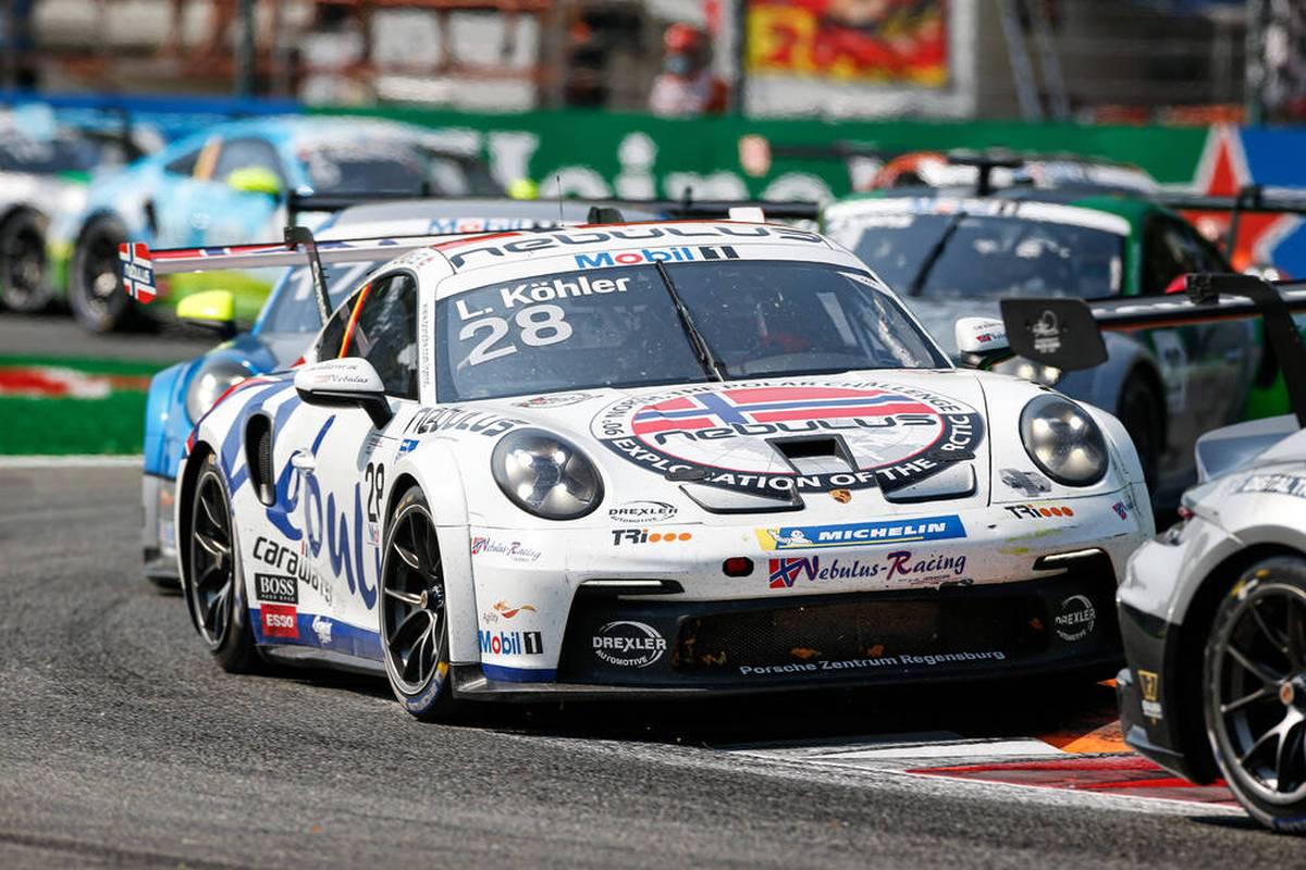 Leon Köhler gewinnt das letzte Rennen im Porsche Carrera Cup Deutschland und feiert einen perfekten Saisonabschluss. Der neue Champion Larry ten Voorde fährt ebenfalls aufs Podium.