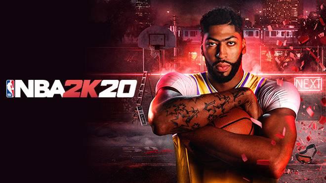 Für die 2020er-Version von 2K's NBA-Klassiker wurde Lakers-Center Anthony Davis die Ehre des Cover-Athleten zuteil.