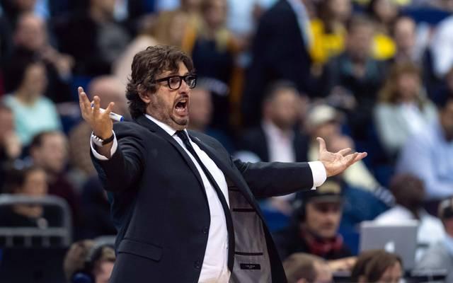 Andrea Trinchieri will mit den Bayern natürlich um den Titel kämpfen