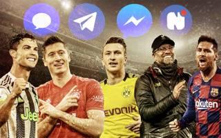 Aktuelle Sport News per Facebook-Messenger: Ticker, Newsletter, Infos und mehr