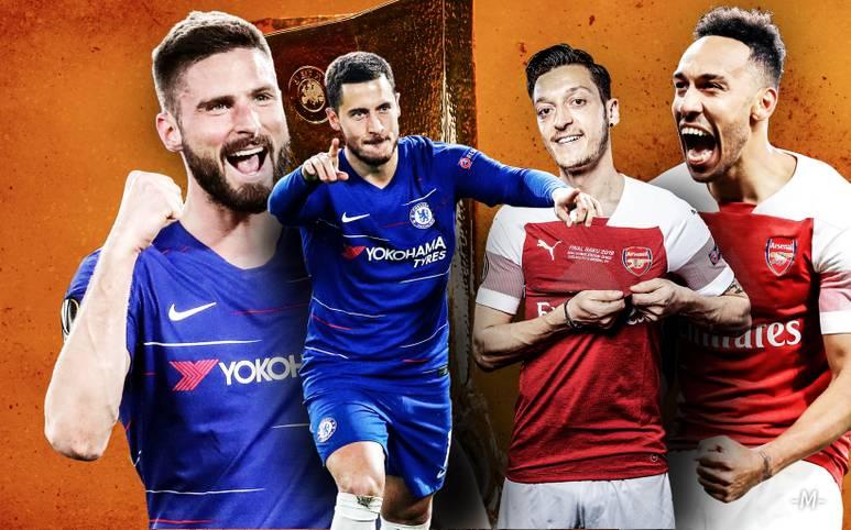 Wenn der FC Chelsea und der FC Arsenal am Mittwoch im Finale der Europa League aufeinandertreffen (ab 21 Uhr im LIVETICKER), duellieren sich mehrere Spieler mit Bundesliga-Vergangenheit. Dazu kommen Weltstars wie etwa Eden Hazard