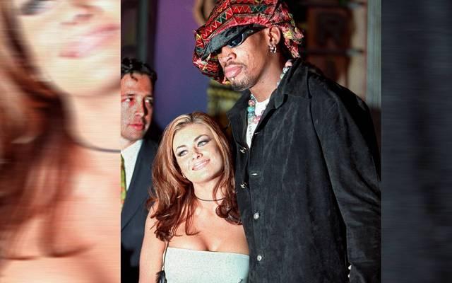 Dennis Rodman und Carmen Electra heirateten 1998 in Las Vegas