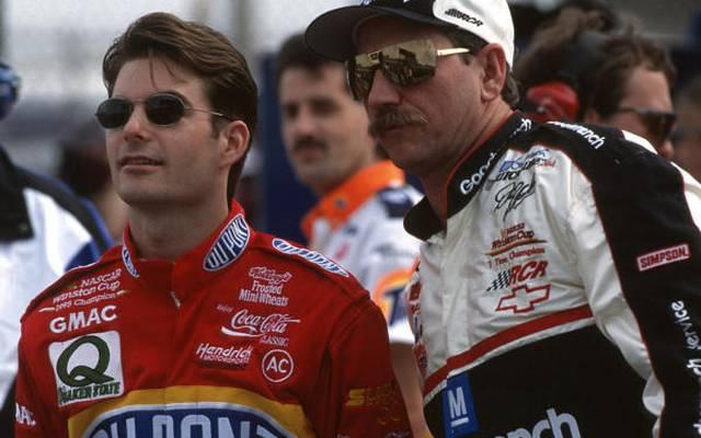 Gordon und Earnhardt haben viele Duelle ausgefochten