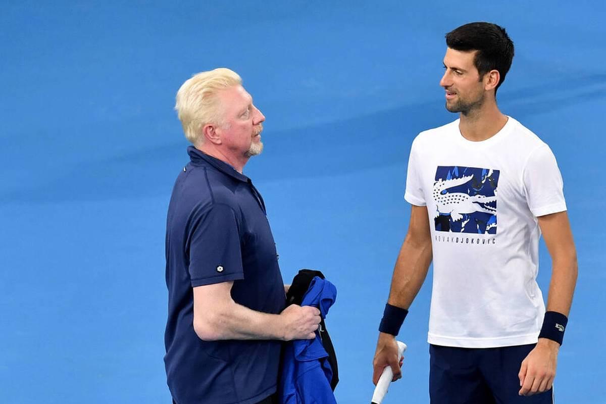 Boris Becker hofft trotz der Einreisebeschränkungen für ungeimpfte Spieler auf eine Teilnahme von Novak Djokovic an den Australian Open.