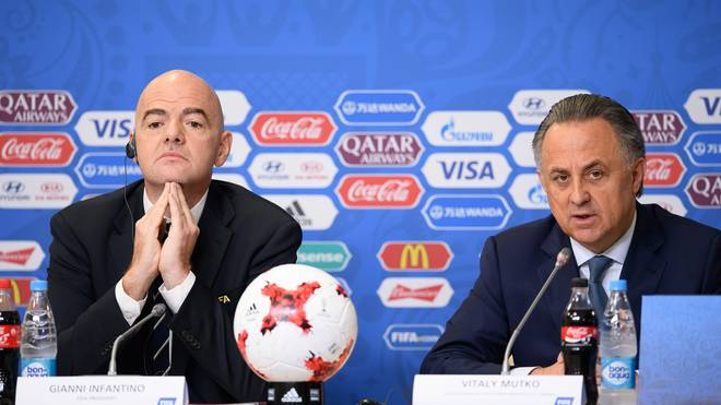 Closing Press Conference - FIFA Confederations Cup Russia 2017