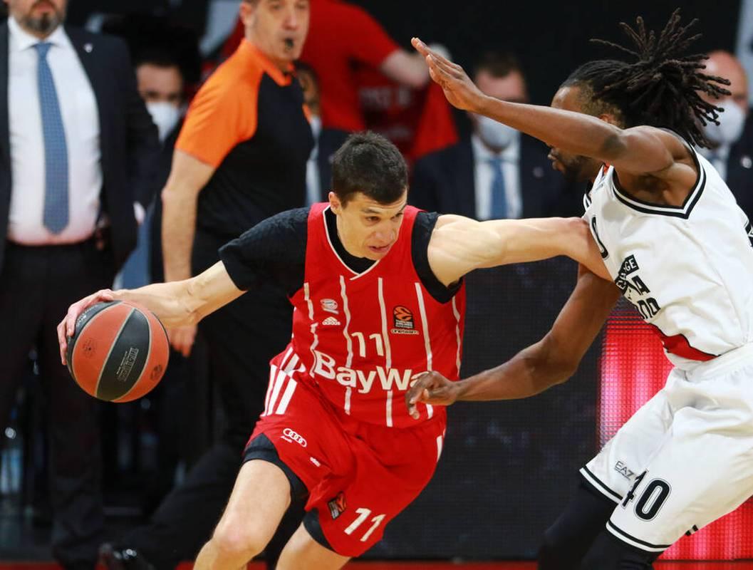 Ganz stark: Vladimir Lucic (l.) erzwang mit dem FC Bayern ein Entscheidungsspiel gegen Mailand in der Basketball-EuroLeague
