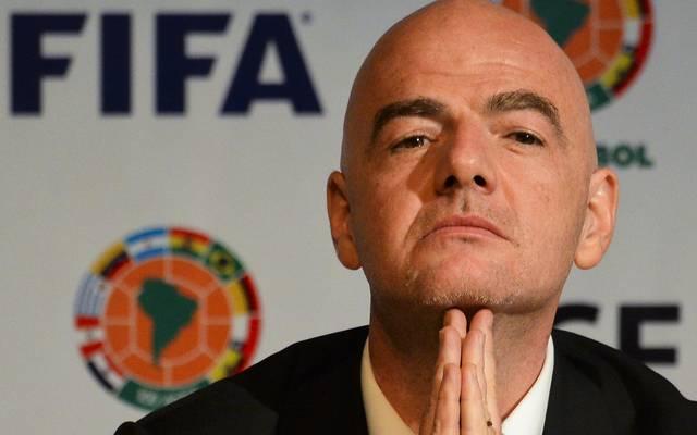 FIFA Präsident Gianni Infantino