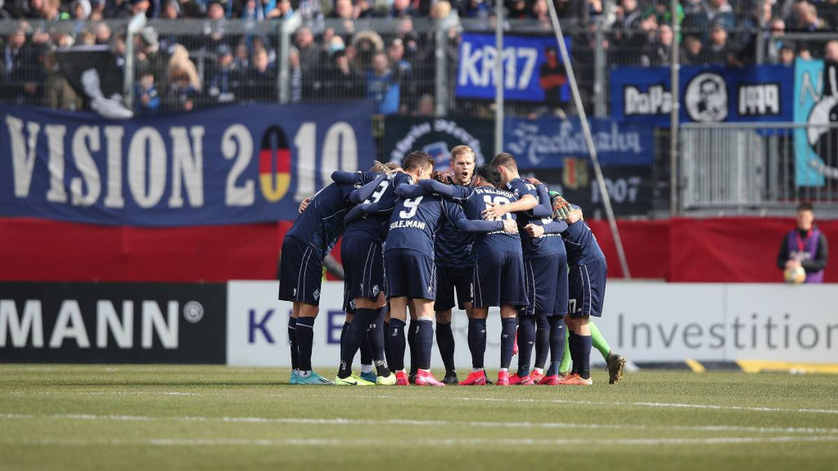 Waldhof Mannheim plädiert gemeinsam mit sieben anderen Klubs für einen Saisonabbruch