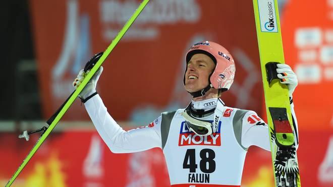 Severin Freund holte bei den Olympischen Spielen 2014 Gold mit der Mannschaft