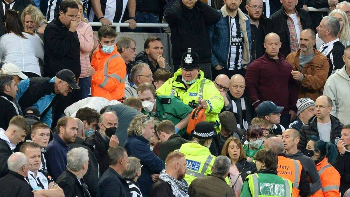 Dramatischer Zwischenfall bei Spurs-Spiel