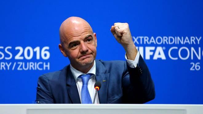 Gianni Infantino ist der neue FIFA-Präsident