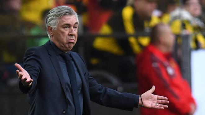 Carlo Ancelotti wurde Ende September beim FC Bayern entlassen