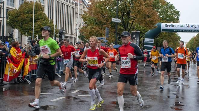 Solche Bilder wird es beim Berlin-Marathon in diesem Jahr nicht mehr geben