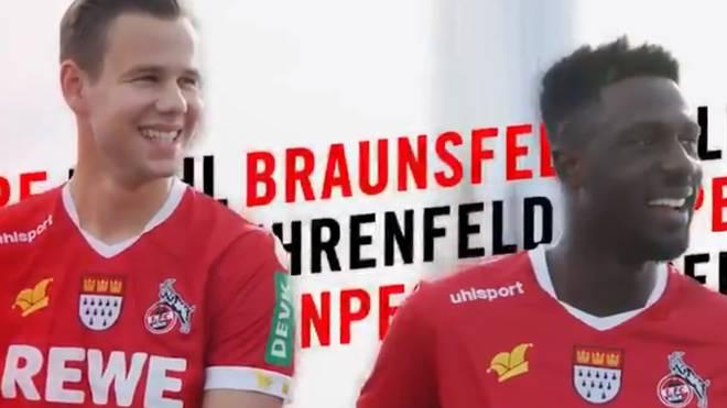 1. FC Köln präsentiert sein Karnevalstrikots
