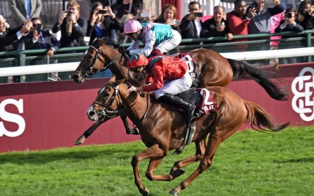Am Sonntag steht der Prix de l' Arc de Triomphe an