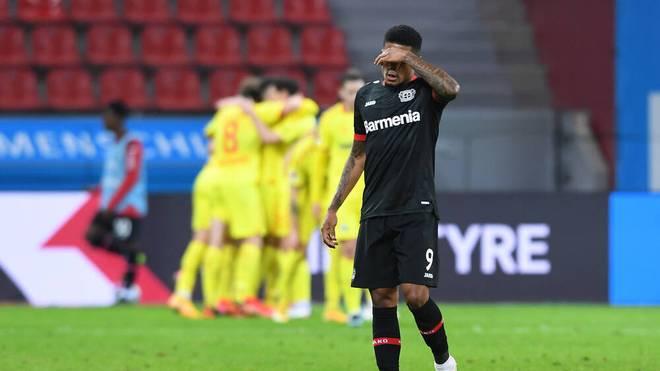 Das Tor von Leon Bailey war zu wenig für Leverkusen