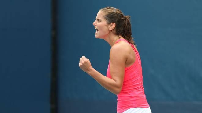 Julia Görges steht bei den US Open in der 2. Runde
