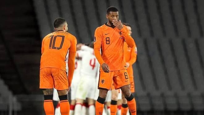 Die Niederlande verloren zum Auftakt der WM-Qualifikation