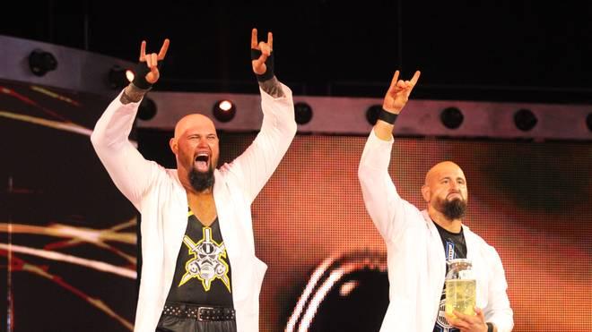 Luke Gallows (l.) und Karl Anderson haben ihr Debüt bei Impact Wrestling gefeiert
