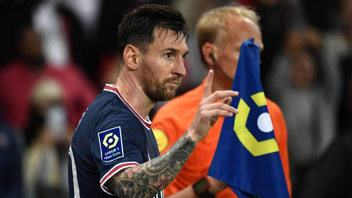 Was Messi Pocchettino bei seiner Auswechslung sagte