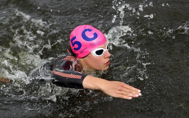 Laura Lindemann war in Yokohama beste deutsche Triathletin