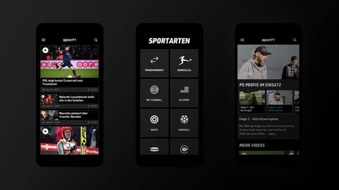 Die neue Videoplattform auf SPORT1.de.
