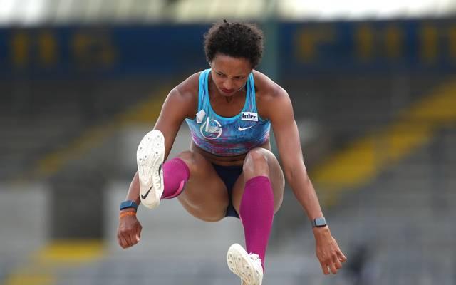 Malaika Mihambo gewann ihren vierten nationalen Titel