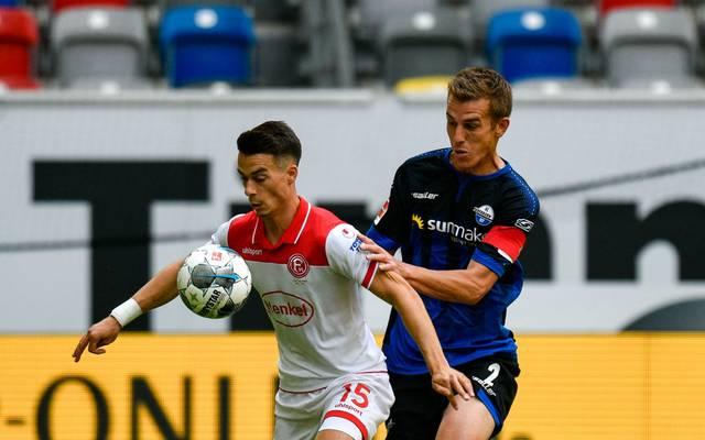 Fortuna Düsseldorf traf gegen Paderborn viermal Aluminium
