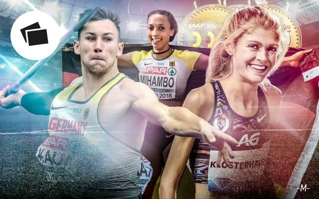 SPORT1 zeigt die deutschen Medaillen-Hoffnungen bei der Leichtathletik-WM