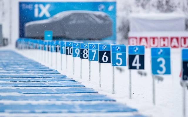 Beim Biathlon-Weltcup in Oberhof gibt es weitere Coronafälle