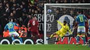 Alisson Becker rettete mit einer Glanztat Liverpool das Achtelfinal-Ticket
